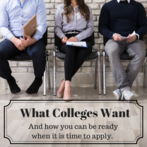What Colleges Want: An Admissions Overview