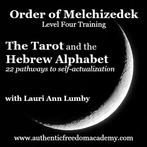 Order of Melchizedek Level Four Online Training - Aleph Beis and Tarot