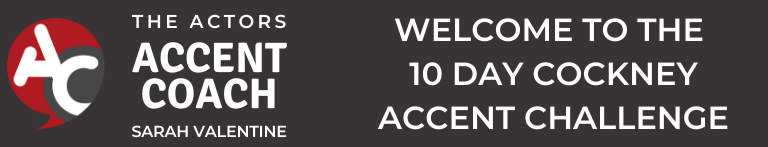 Solo 10 Day Cockney Accent Challenge available from 25th August