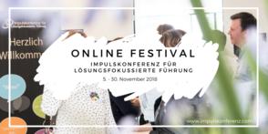 Online Festival 2018 - Impulskonferenz für Lösungsfokussierte Führung