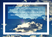 Hope and Reasons for Living - Solution Focused Suicide Prevention