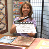 Cindy with clapperboard