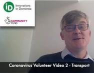 MODULE 2 - Covid-19 Community Volunteer - Transport